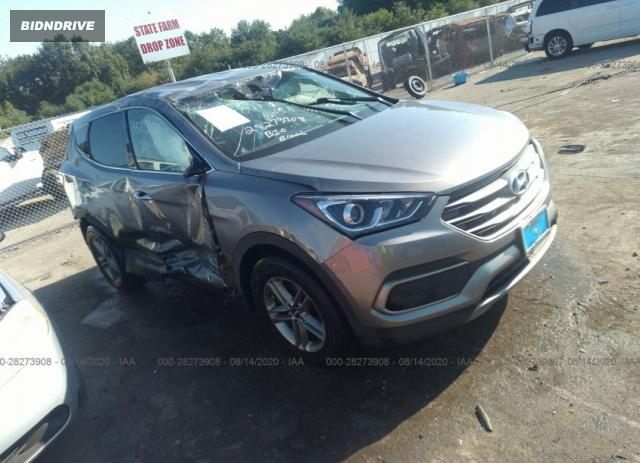 Lot #1659650674 2018 HYUNDAI SANTA FE SPORT 2.4L salvage car