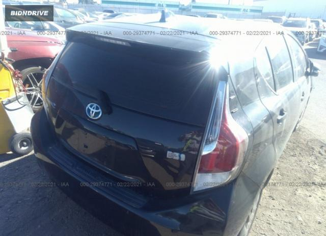 Lot #1659672044 2016 TOYOTA PRIUS C ONE/TWO/THREE/FOUR salvage car