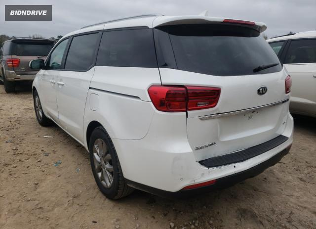 Lot #1667253517 2021 KIA SEDONA LX salvage car