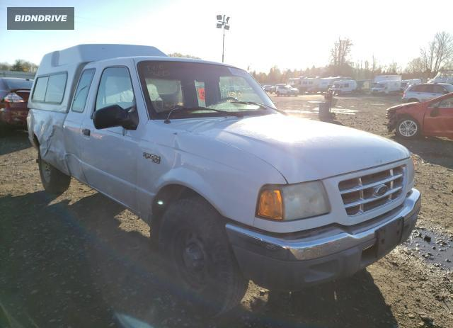 Lot #1673609924 2001 FORD RANGER salvage car