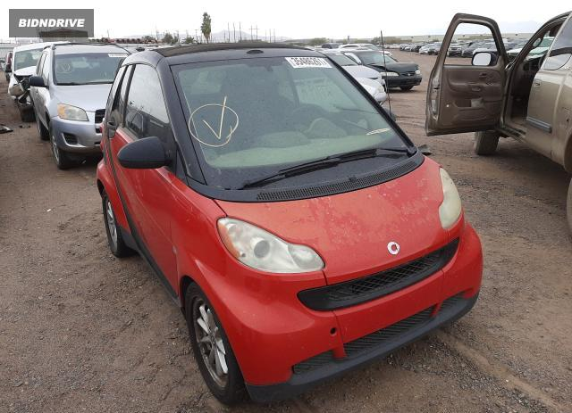 Lot #1674605554 2008 SMART FORTWO PAS salvage car