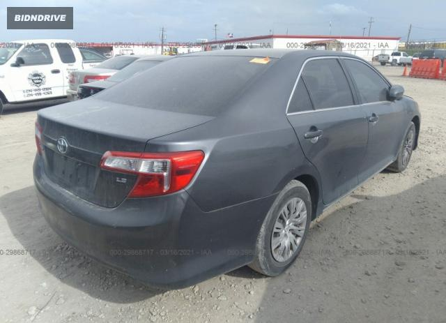 Lot #1677700297 2012 TOYOTA CAMRY LE salvage car