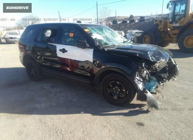 Lot #1677700794 2015 FORD UTILITY POLICE salvage car