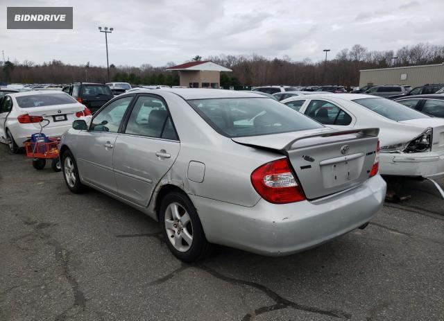 Lot #1677761054 2003 TOYOTA CAMRY LE salvage car