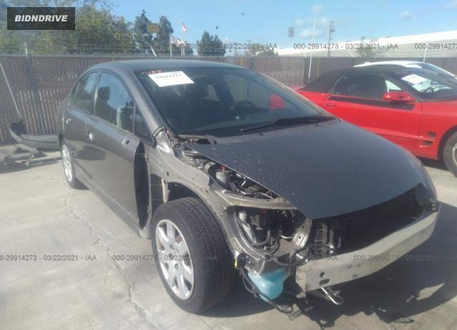 Lot #1678209921 2007 HONDA CIVIC SDN LX salvage car