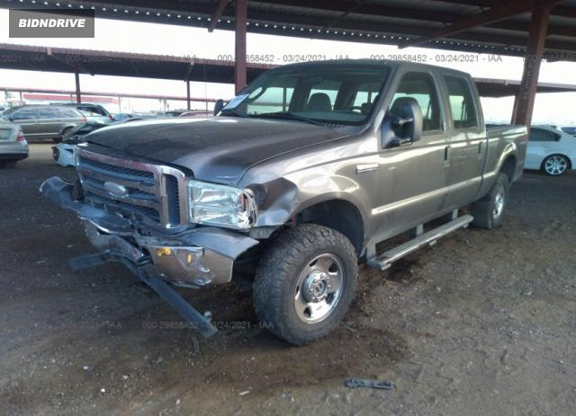 Lot #1678711297 2006 FORD SUPER DUTY F-250 XL/XLT/LARIAT/KING RANCH salvage car