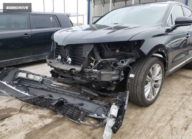 Lot #1679854044 2016 LINCOLN MKX RESERV salvage car