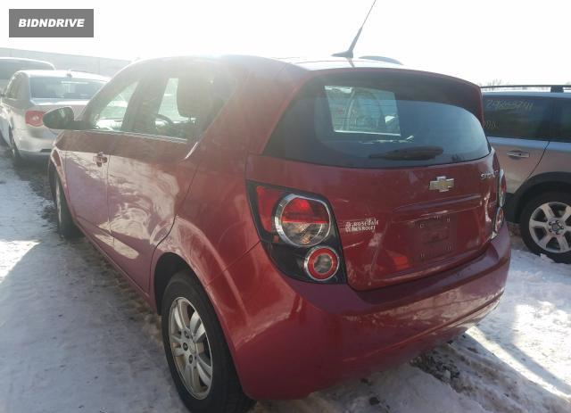 Lot #1679859104 2013 CHEVROLET SONIC LT salvage car