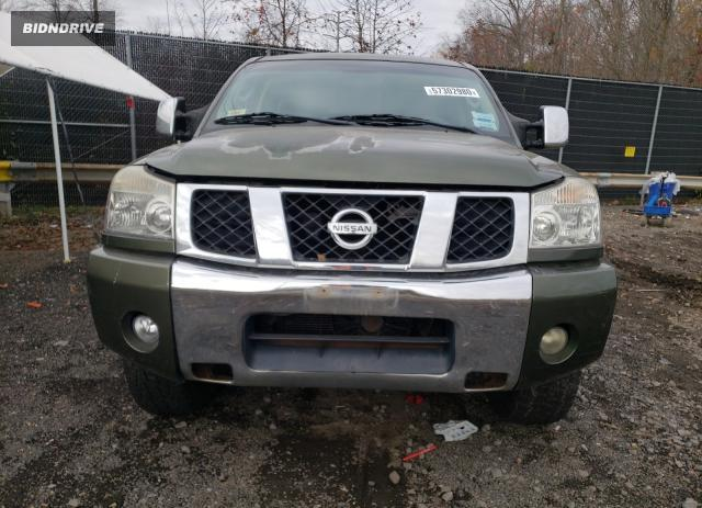 Lot #1680320174 2004 NISSAN TITAN XE salvage car