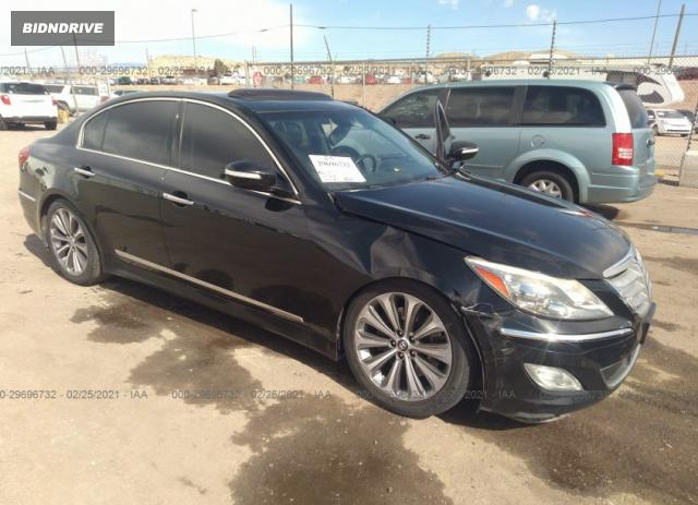 Lot #1680684051 2014 HYUNDAI GENESIS 5.0L R-SPEC salvage car