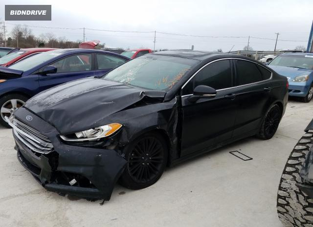 Lot #1680777944 2014 FORD FUSION SE salvage car