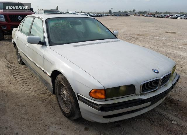 Lot #1680809847 1997 BMW 740 IL salvage car