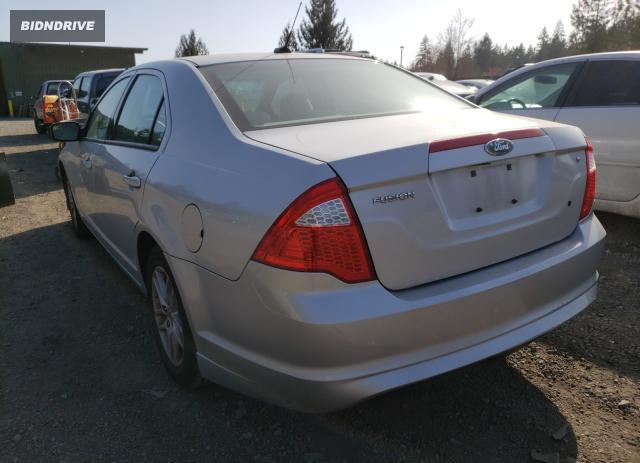 Lot #1680839737 2010 FORD FUSION S salvage car