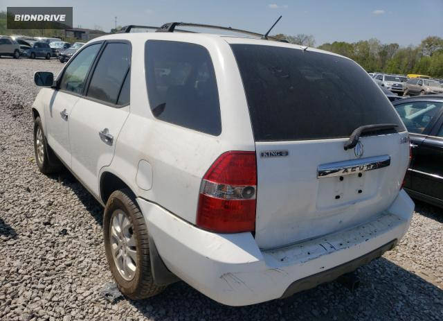 Lot #1680854851 2003 ACURA MDX TOURIN salvage car