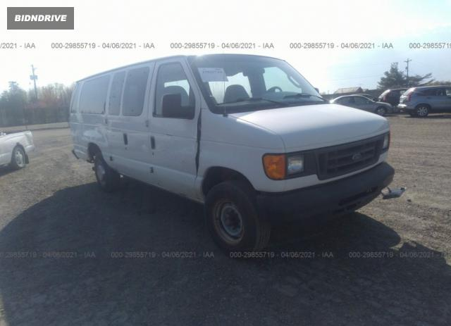 Lot #1681179854 2004 FORD ECONOLINE CARGO VAN salvage car