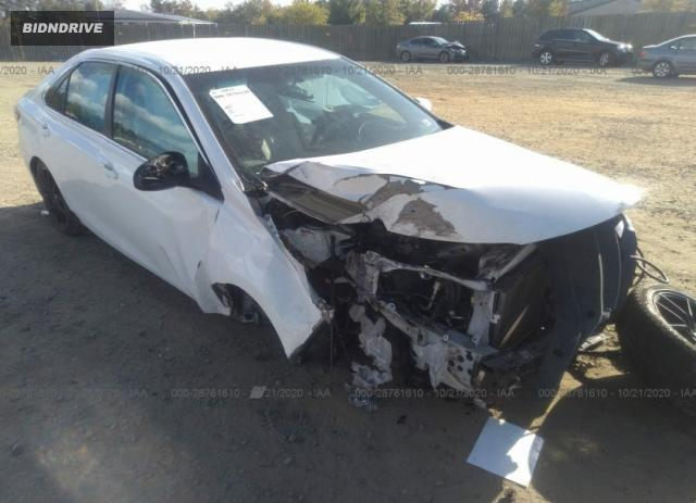 Lot #1681195037 2016 TOYOTA CAMRY XLE/SE/LE/XSE salvage car