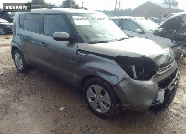 Lot #1681688651 2015 KIA SOUL BASE salvage car
