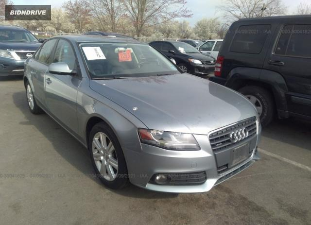 Lot #1682188534 2011 AUDI A4 2.0T PREMIUM salvage car