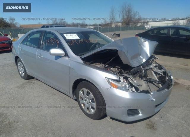 Lot #1682188677 2010 TOYOTA CAMRY salvage car