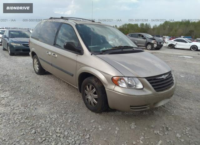 Lot #1682189041 2005 CHRYSLER TOWN & COUNTRY salvage car
