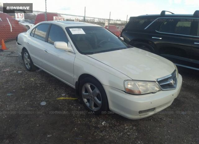 Lot #1682189201 2003 ACURA TL TYPE S salvage car