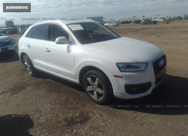 Lot #1682189324 2015 AUDI Q3 2.0T PREMIUM PLUS salvage car