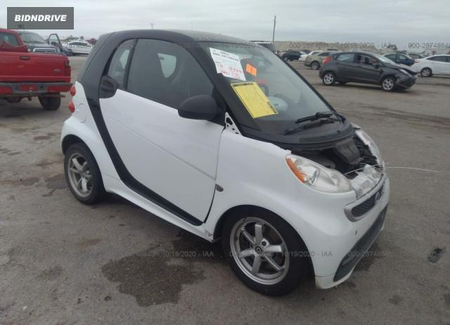 Lot #1683225551 2015 SMART FORTWO PASSION/PURE salvage car