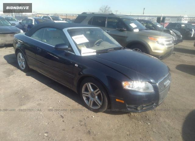 Lot #1683715584 2007 AUDI A4 2.0T salvage car