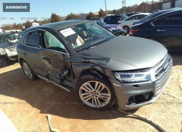 Lot #1683716344 2018 AUDI Q5 PREMIUM PLUS salvage car