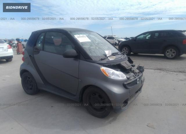 Lot #1684726891 2014 SMART FORTWO PURE/PASSION salvage car