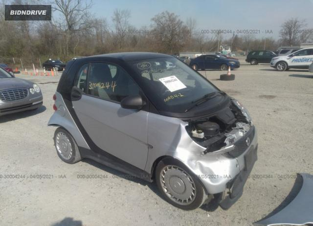 Lot #1685095087 2015 SMART FORTWO PASSION/PURE salvage car