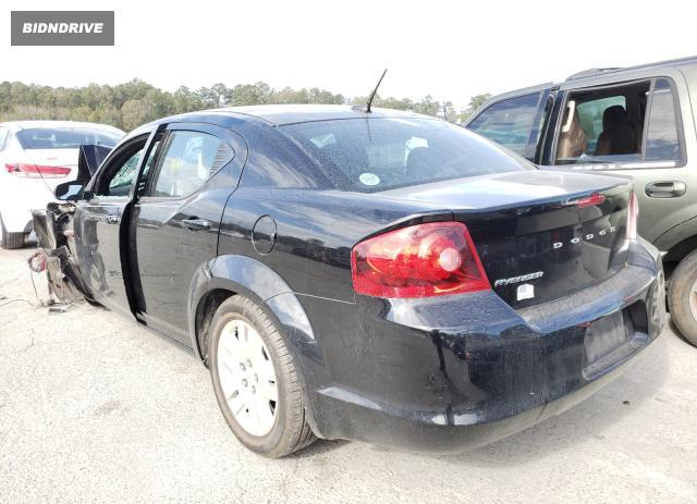 Lot #1686757731 2014 DODGE AVENGER SE salvage car