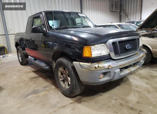 Lot #1687246644 2004 FORD RANGER SUP salvage car
