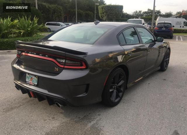 Lot #1688671754 2019 DODGE CHARGER SC salvage car