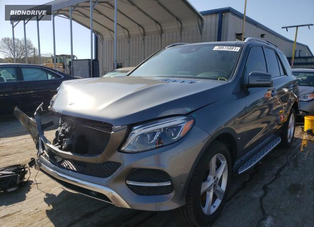 Lot #1690301617 2018 MERCEDES-BENZ GLE 350 4M salvage car