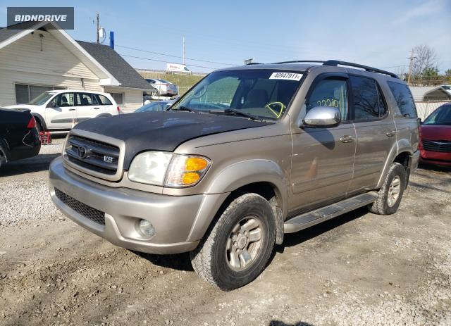 Lot #1690316587 2004 TOYOTA SEQUOIA SR salvage car