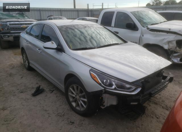 Lot #1691757334 2018 HYUNDAI SONATA SE salvage car