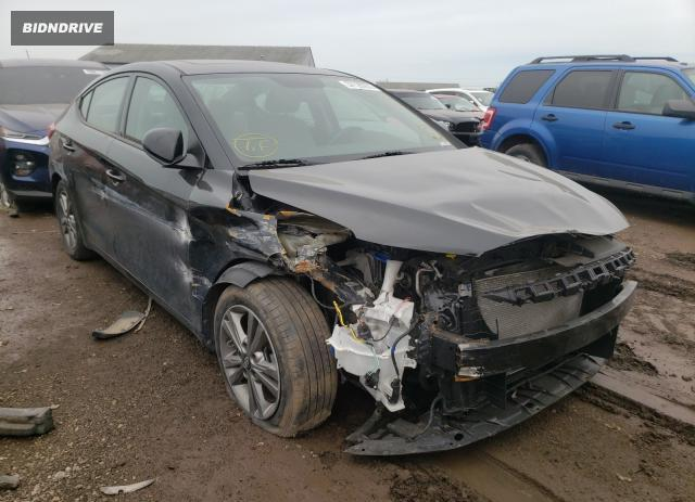 Lot #1691792204 2017 HYUNDAI ELANTRA SE salvage car