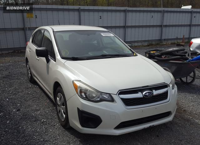 Lot #1691797094 2014 SUBARU IMPREZA salvage car