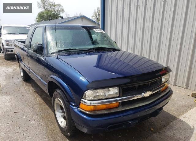 Lot #1691860934 1999 CHEVROLET S TRUCK S1 salvage car