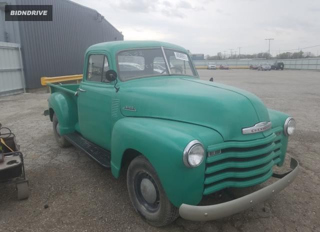 Lot #1691870761 1953 CHEVROLET 3100 salvage car