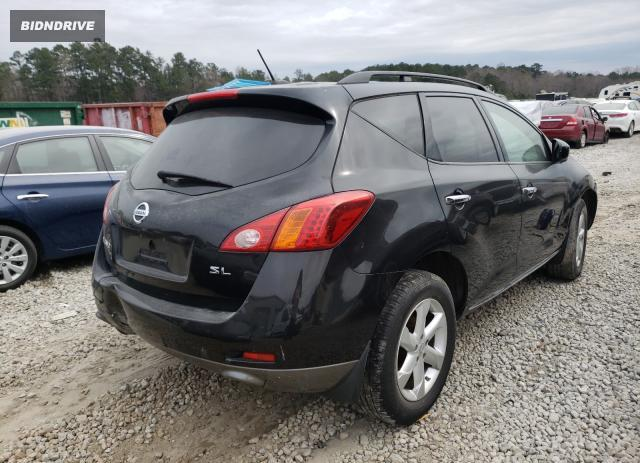 Lot #1692243801 2009 NISSAN MURANO S salvage car