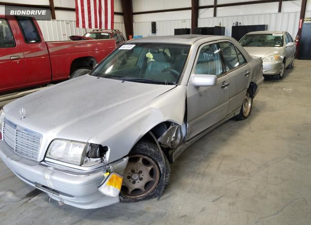 Lot #1692382914 1998 MERCEDES-BENZ C 230 salvage car