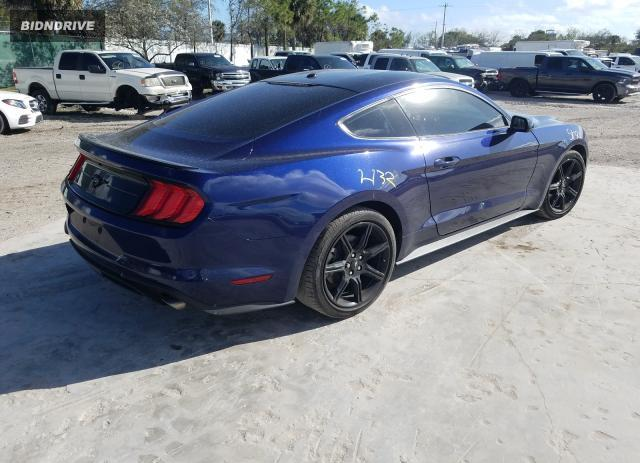 Lot #1693590757 2019 FORD MUSTANG salvage car