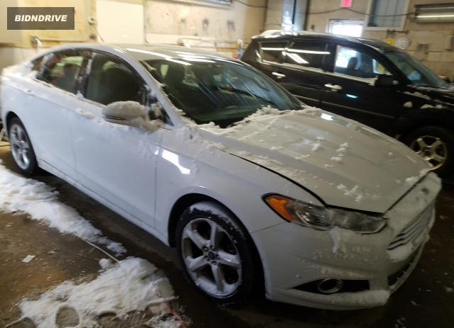 Lot #1693615834 2015 FORD FUSION SE salvage car