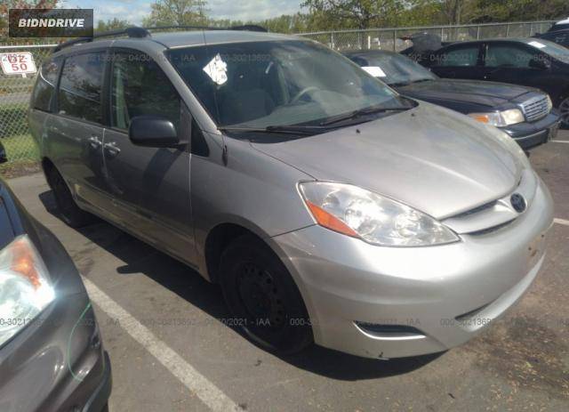 Lot #1694429547 2009 TOYOTA SIENNA CE/LE salvage car