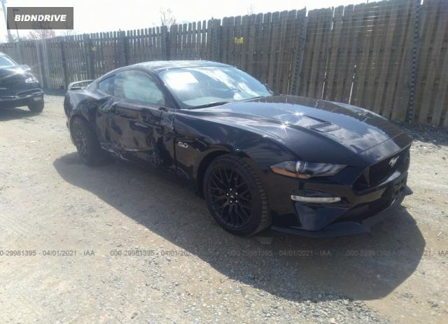 Lot #1694430521 2020 FORD MUSTANG GT salvage car