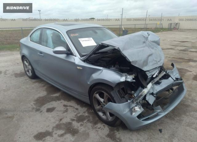 Lot #1694438401 2009 BMW 1 SERIES 128I salvage car