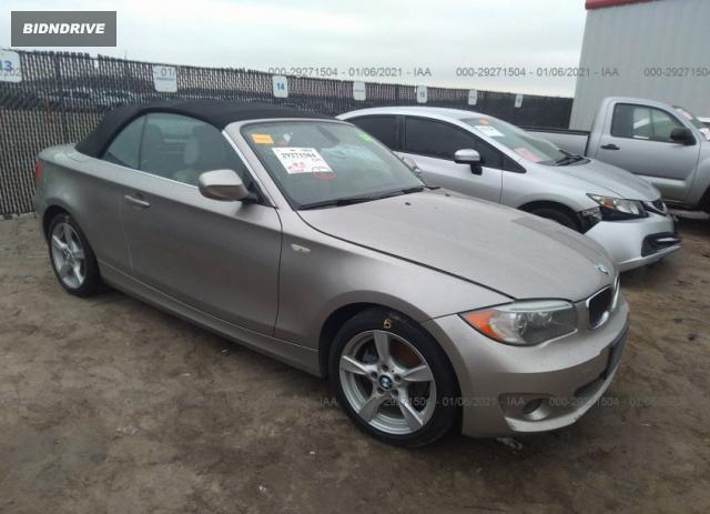 Lot #1694455257 2013 BMW 1 SERIES 128I salvage car