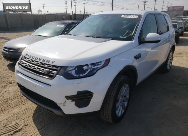 Lot #1695090817 2016 LAND ROVER DISCOVERY salvage car